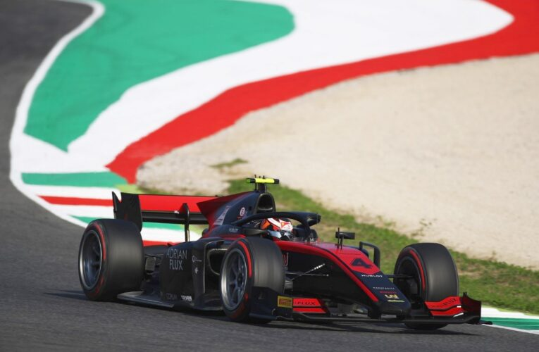 Huge F2 crash may reveal 18-inch tire flaw