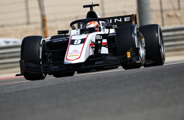 F2 Day 2 Testing: Lundgaard stays fastest for the day  (Update)