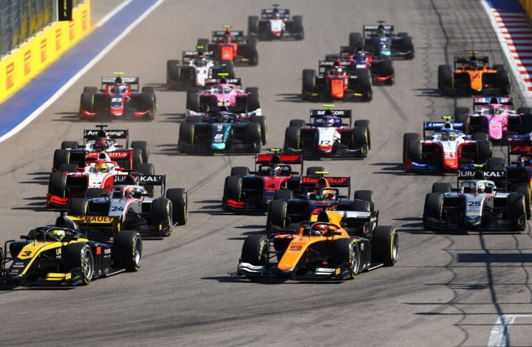 New weekend format for FIA F2 and F3 announced