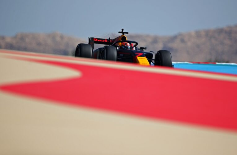 F2: Daruvala quickest for the second day running in post-season testing