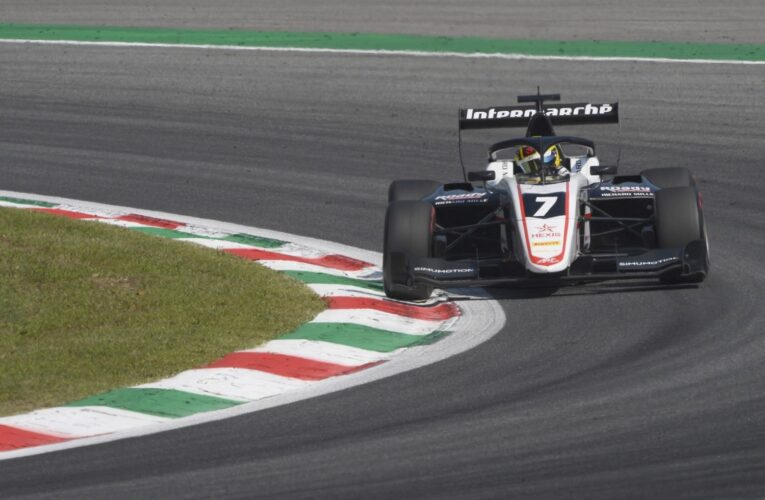 F3: ourchaire pips Zendeli to pole by 0.4s at Monza