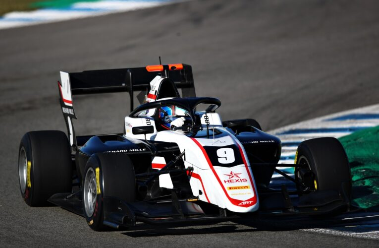 F3: Stanek tops Day 1 of post-season testing, ahead of rookie Leclerc