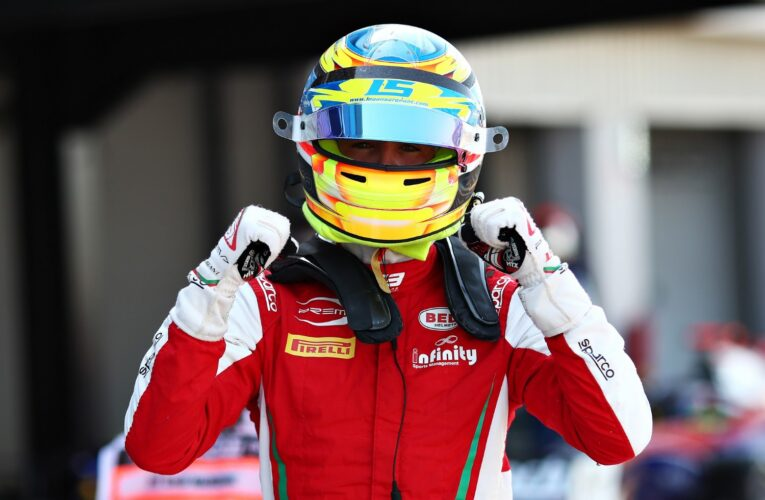 F3 Sargeant takes pole at Silverstone