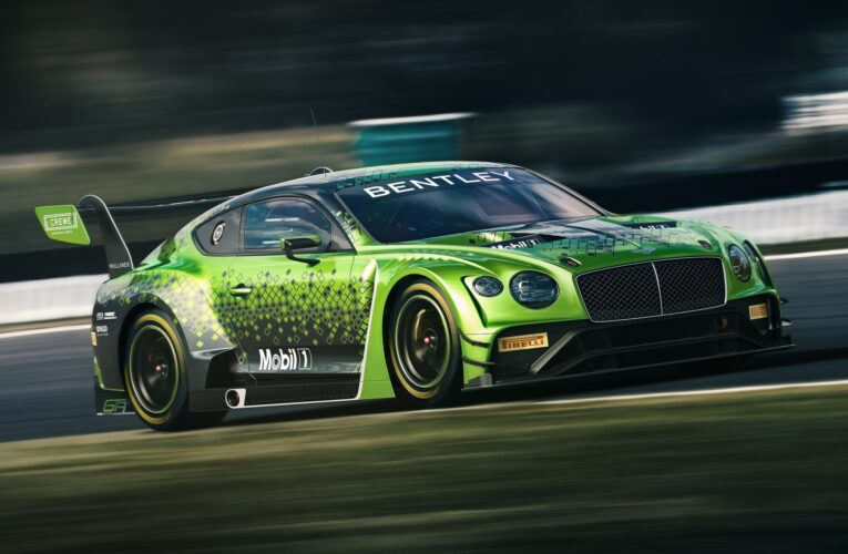 Video: Get to know the The Bentley Continental GT3
