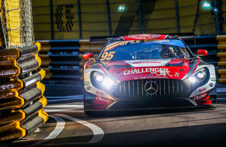 O'Young Dominates Second Macau GT Cup Practice