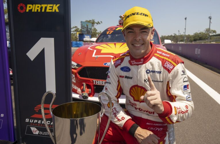 Scott McLaughlin discusses his IndyCar debut this weekend