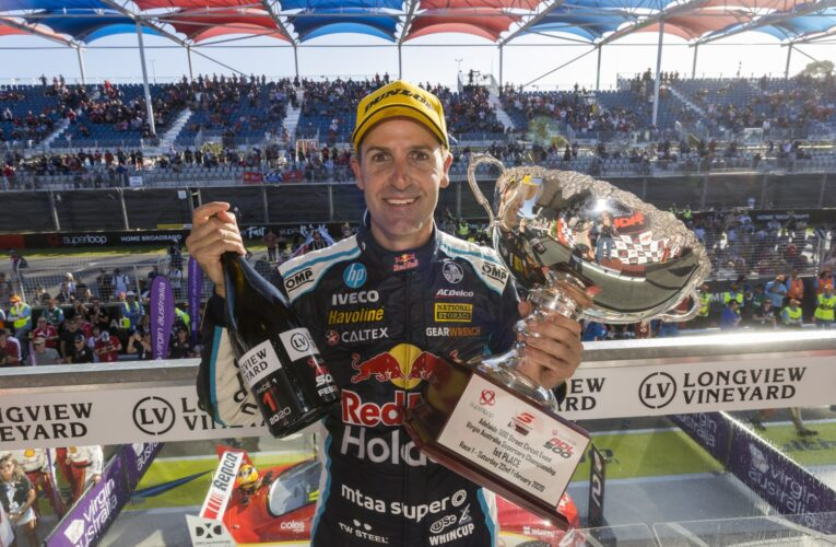Supercars great Jamie Whincup evicted from Queensland after crossing border