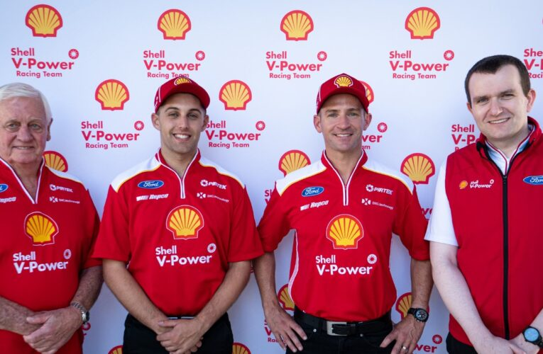 Supercars: Shell V-Power Racing Team Announce 2021 Driver Line Up