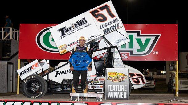 Larson scores 410 Sprint Car victory