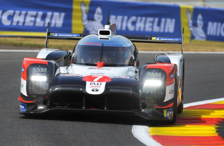 Toyota wins an unpredictable TOTAL 6 Hours of Spa