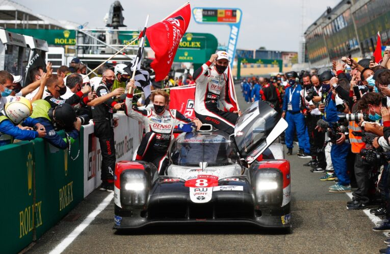 Toyota takes 3rd straight 24 Hours of LeMans win