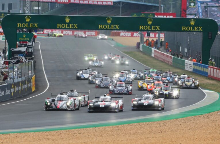 Le Mans Hour 1: #7 Toyota leads over #1 Rebellion