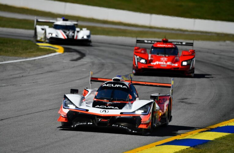 Tempers flared over controversial Petit Le Mans finish