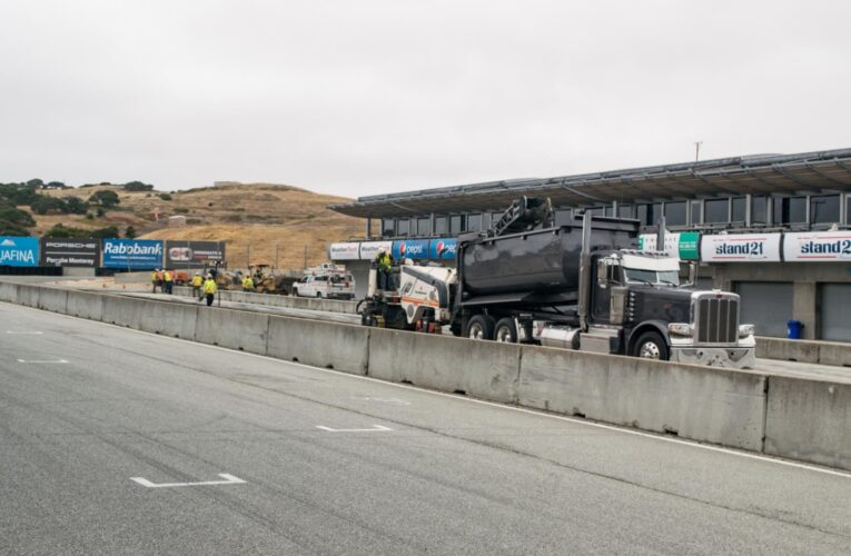 Laguna Seca nearly done with small upgrades