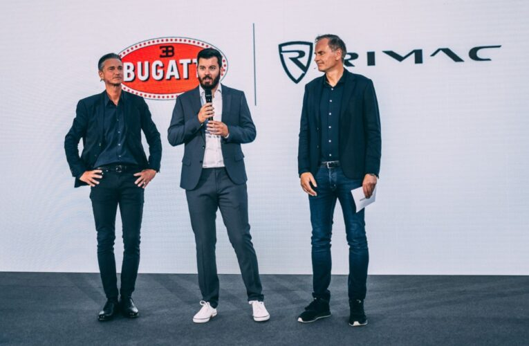 Rimac and Bugatti join forces to create road-going hypercars