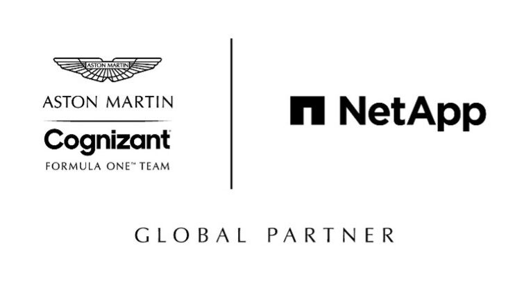 NetApp joins Aston Martin Cognizant F1 Team to pioneer data-driven racing strategy