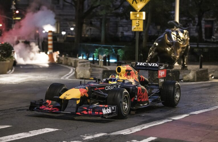 F1: Red Bull hits Wall Street and NYC landmarks before Miami GP in 2022.