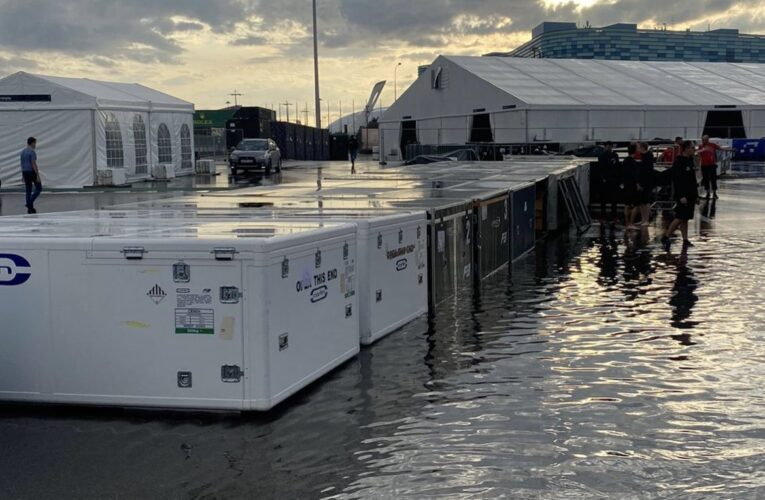 F1: Sochi hit with flooding days before GP weekend