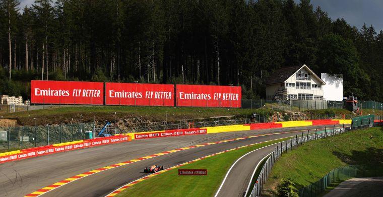 F1: Iconic Eau Rouge chalet demolished