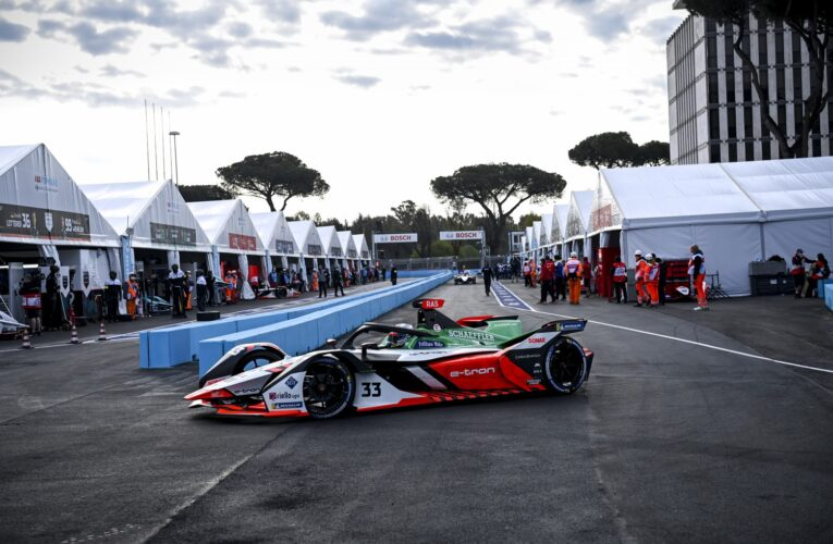 Formula E Rome: Big crash in FP1, Guenther quickest in FP2