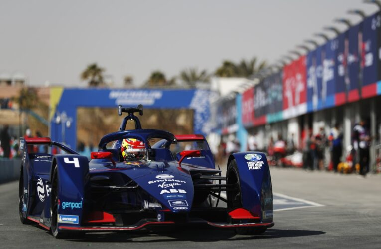 Formula E: Robin Frijns sets the benchmark in practice for Race 2