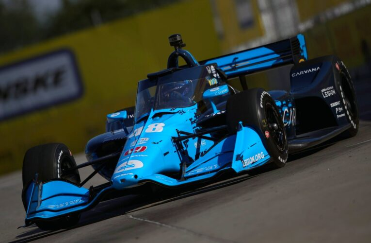Jimmie Johnson on Racing in Detroit and on Ovals in IndyCar