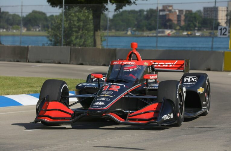 Saturday IndyCar Report from Belle Isle in Detroit