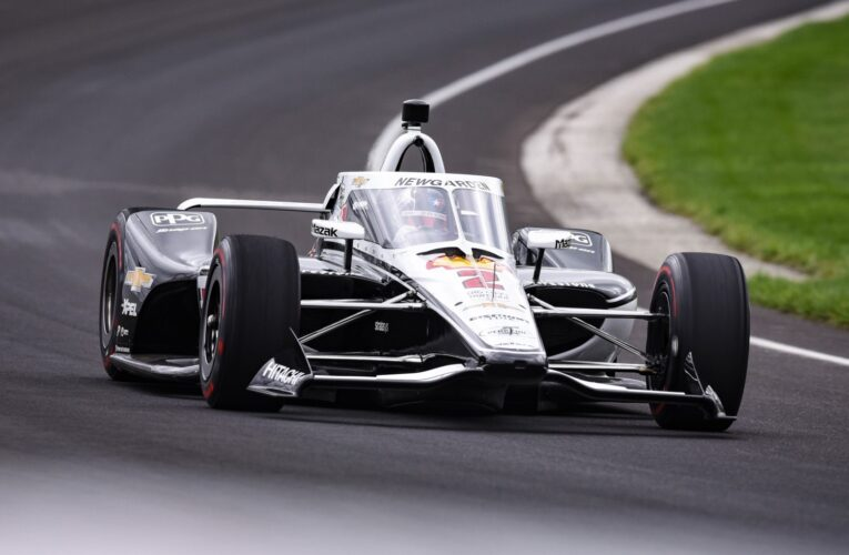 Newgarden tops Day 2 of IndyCar testing at IMS