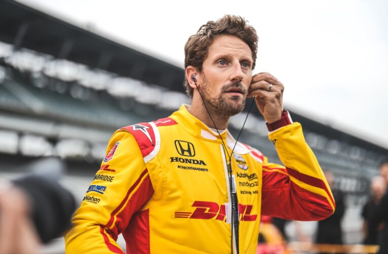 IndyCar: Scenes from Grosjean and Johnson Indy 500 Rookie Test  (Update)