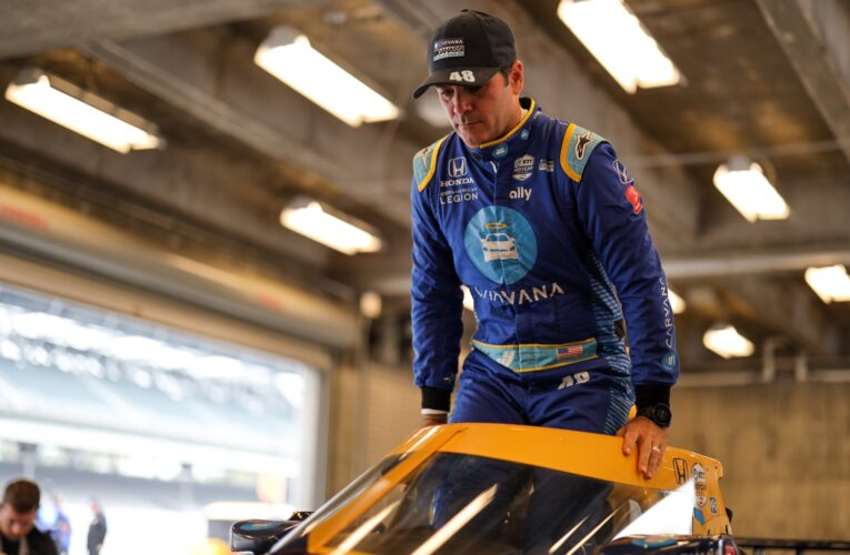IndyCar: Johnson disappointed not to finish Rookie Test at Indy