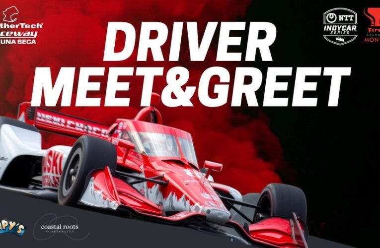 INDYCAR athletes to attend driver reception at Tarpy's Roadhouse ahead of the Firestone Grand Prix of Monterey