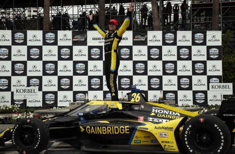 Video: Highlights of the IndyCar Acura GP of Long Beach