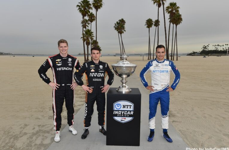 IndyCar: Championship contenders press conference