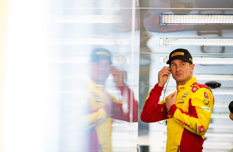 Hunter-Reay tops IndyCar oval test  (Update)