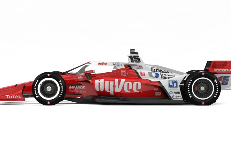 Hy-Vee to sponsor Ferrucci in the Indy 500, Rahal 2 other races