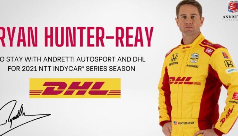 Ryan Hunter-Reay Confirmed To Andretti Autosport With DHL Support