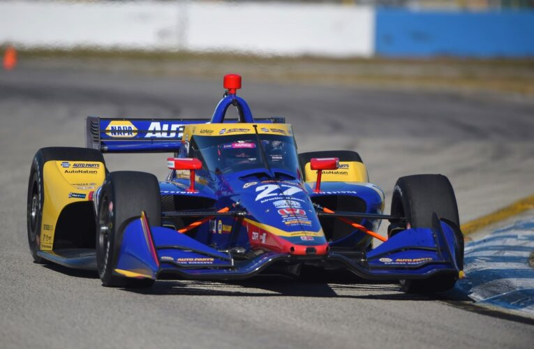 Rossi leads Andretti 1-2 on Day 2 of IndyCar Sebring testing