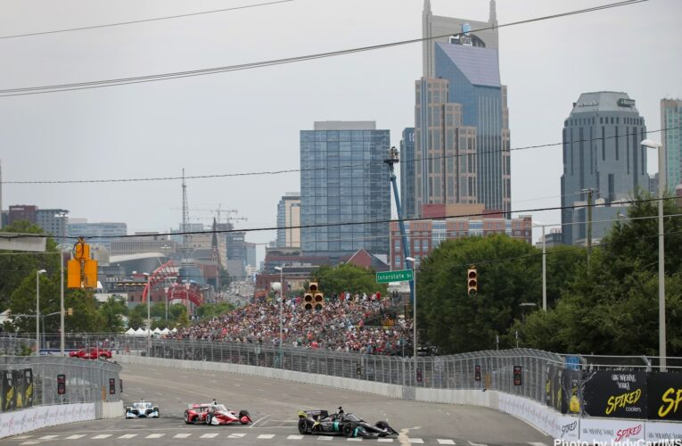 IndyCar:  Sunday Morning Report from the Music City Grand Prix