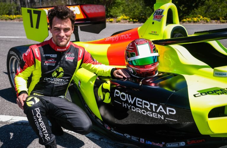 Powertap Hydrogen Fueling Corp. to back Defrancesco's Andretti Indy Lights car
