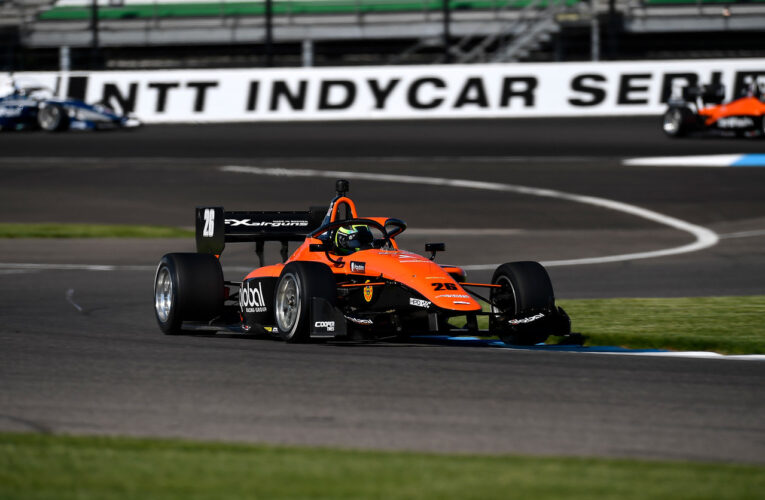 Indy Lights: Lundqvist wins pole for GP of Indy Race 1