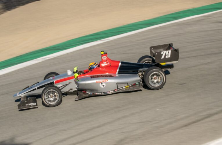 IndyLights Team Descends on Laguna Seca for Pre-Season Testing