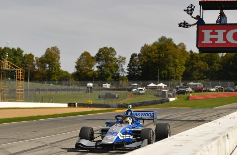 Indy Lights: Four-peat for Kirkwood Virtually Locks Up 2021 Crown
