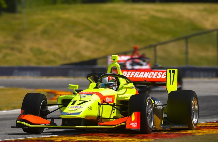 Indy Lights: DeFrancesco heads to Mid-Ohio with high hopes