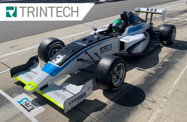 James Roe Partners with Trintech for 2021 Indy Pro 2000 Championship