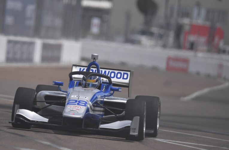 Five Different Road to Indy Pole Winners in St. Petersburg