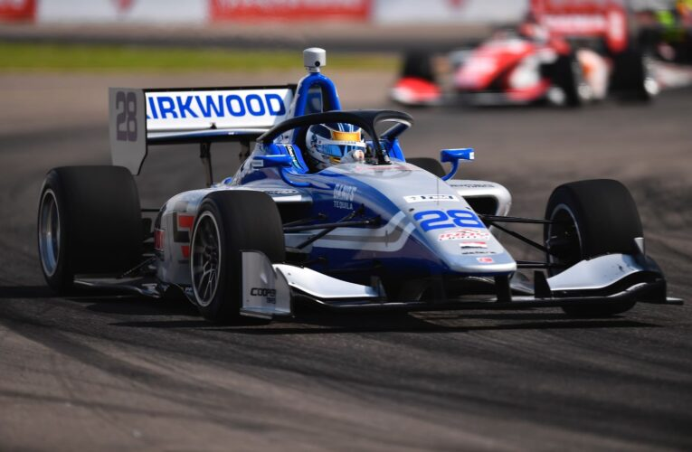 Kirkwood Leads Andretti Indy Lights 1-2 on the Streets of St. Petersburg