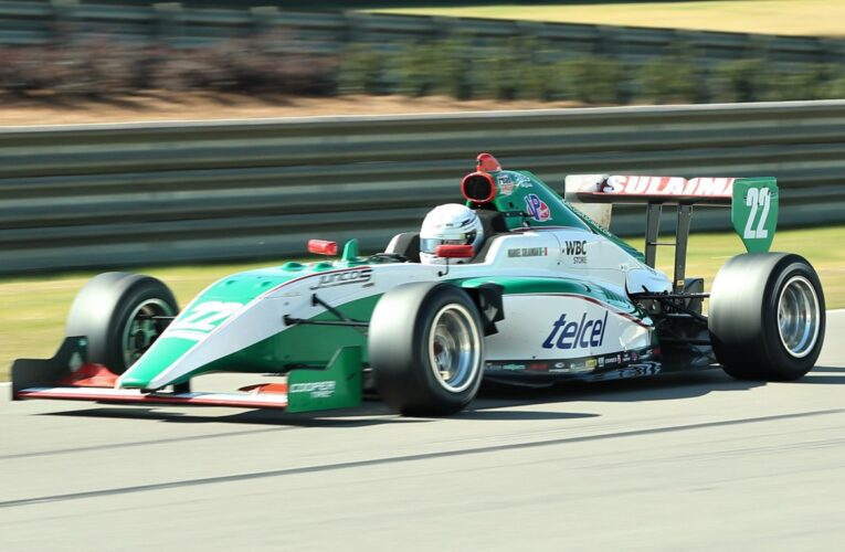 "Sulaiman, Brooks Fastest in Road to Indy ""Spring Training"""