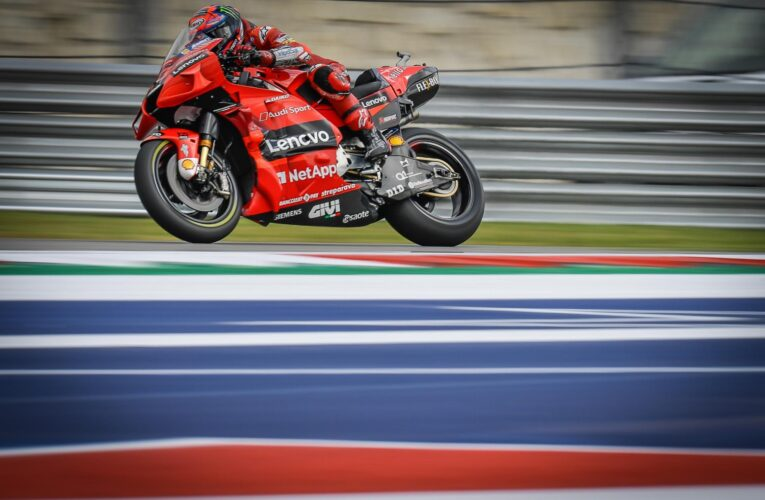 MotoGP: Bagnaia to start from pole for today's COTA race