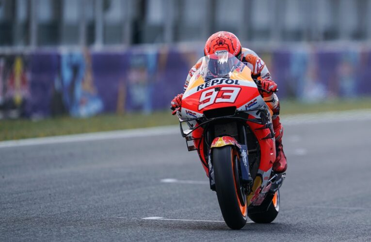 Marquez forced to abandon test early