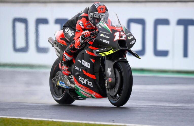 MotoGP: Vinales fastest at Misano on dry to wet day